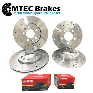 Audi-TT-MK2-1-8T-FSi-2-0-TFSI-06-14-Drilled-Grooved-Front-Rear-Brake-Discs-Pads