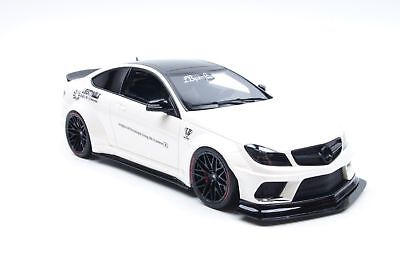 GT-Spirit Mercedes-Benz C63 W204 Coupé LB-Works Weiß 1:18 Asia Special edition