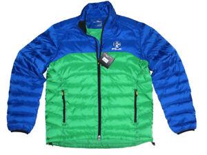 Lauren Ralph Explorer Polo Puffer Green Mens Rlx Jacket Down Blue stQrhCxd