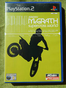 Jeremy-McGrath-Supercross-World-Sony-PlayStation-2-2001-PAL-PS2-Game