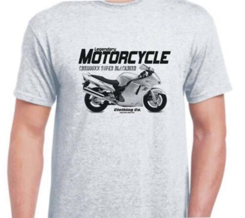 Honda CBR1100XX Super Blackbird 01 inspiré vintage moto vélo shirt tshirt