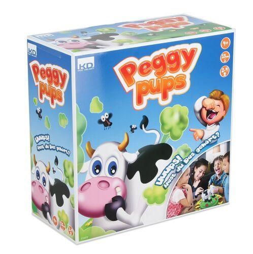 Peggy Pups Gesellschaftsspiel Kinderspiel Familienspiel Interaktiv KD Games NEU