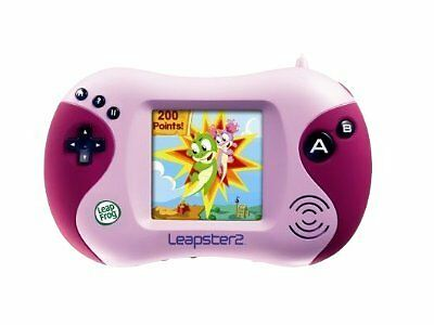 Pink Leapster 2 Handheld LeapFrog Learning Game System ...