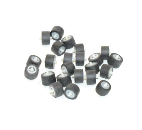 RUBBER PINCH ROLLER FOR CASSETTE DECK 10.8 x 6.8 x 11 mm NEW