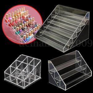 Removable-Acrylic-Nail-Polish-Rack-Display-Cosmetic-Storag-6-3-Layers-9-Grids