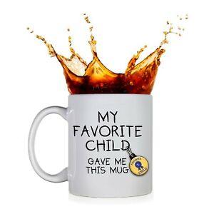 Funny Fathers Day My Favorite Child Gave Me This Mug Ceramic Coffee Mug