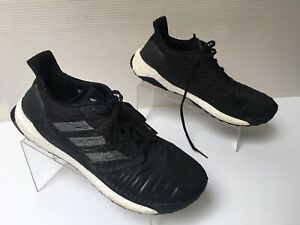 Adidas-Mens-Solar-Boost-CQ3171-Black-Running-Shoes-Lace-Up-Low-Top-Size-11-5