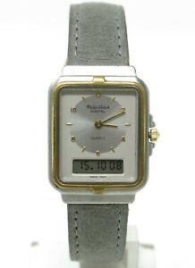 Orologio Philip Watch 2051 anadigit vintage rare clock philip watch montre reloy