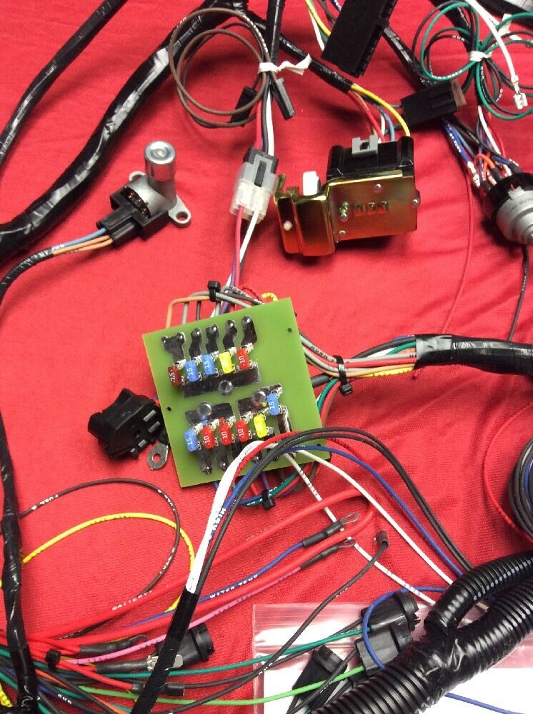 Early Bronco Cen Tech Wiring Harness on