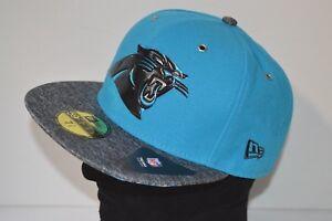 af5f62568bb New  37 New Era 5950 Carolina Panthers 2016 NFL Draft Cap Hat 7 1 2 ...