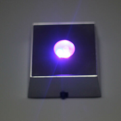 20C4 LED Crystal Light Up Exhibition Lamp Base Square Display Stand Light Base