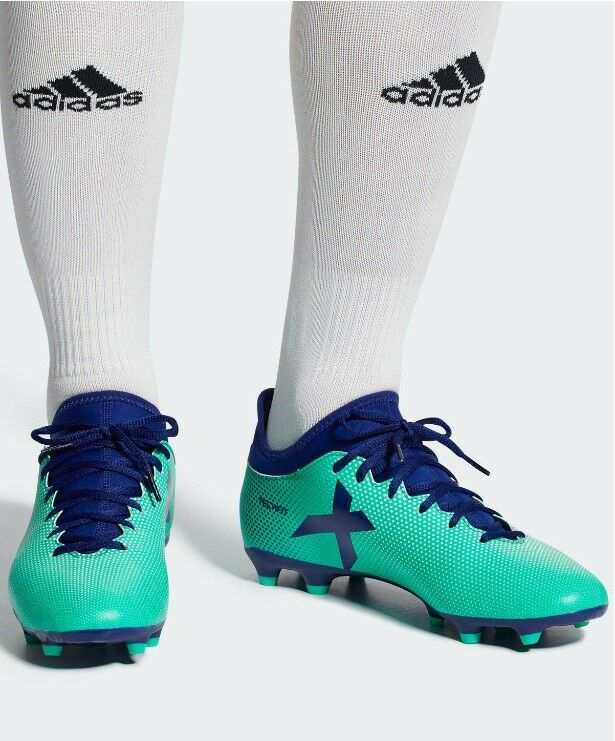 Adidas Men Boots shoes Football Boots X 17.3 Firm Ground Soccer Cleats CP9194