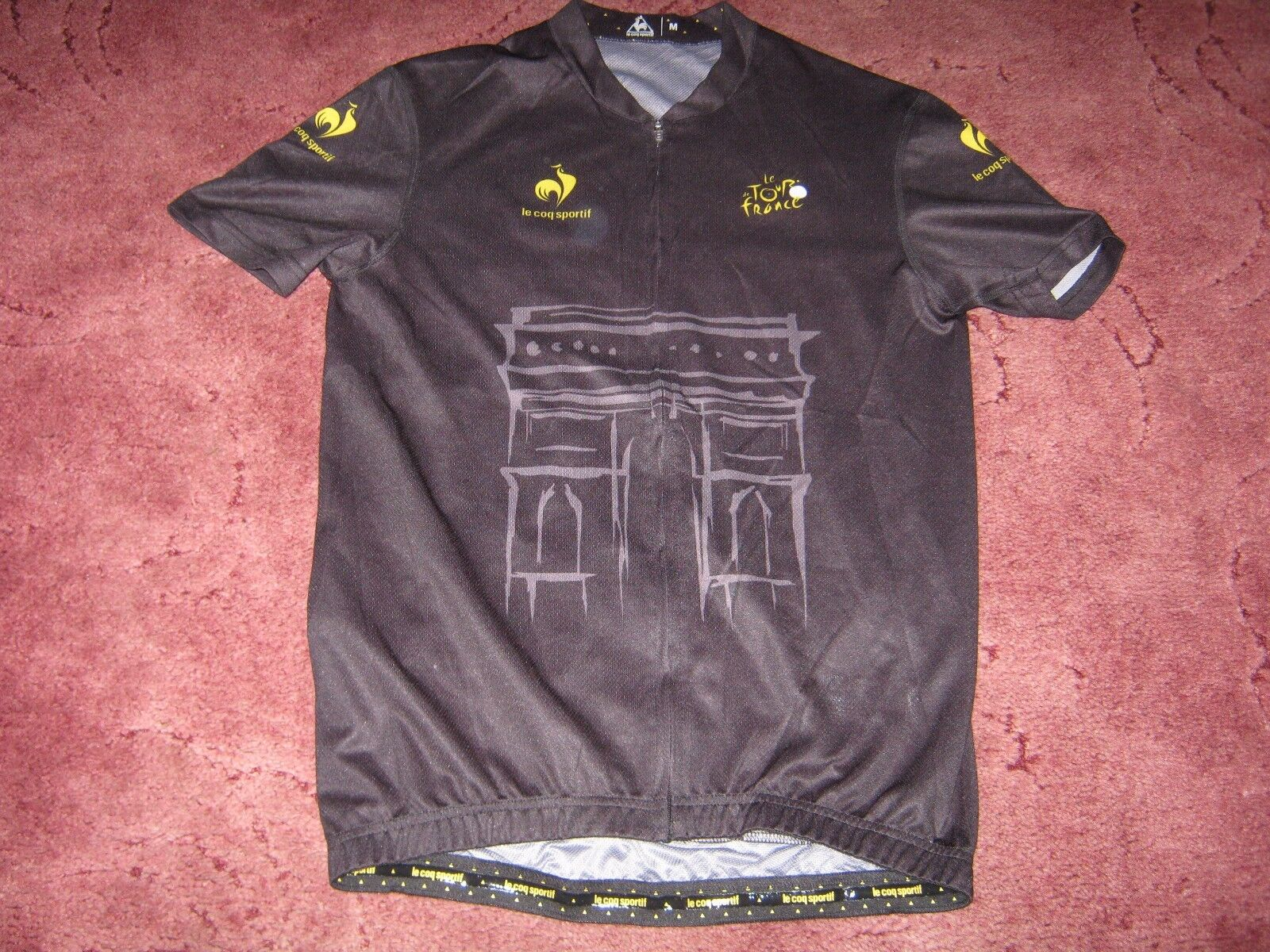 TOUR DE FRANCE LCS  DEDICATED PARIS CYCLING JERSEY [M] BNWOT