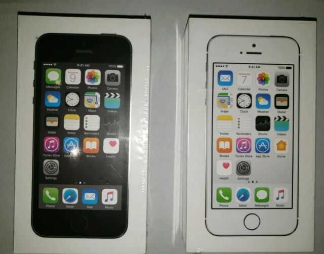 Brand new sealed iphone 5s locked to Tracfone / Straight Talk Never Opened