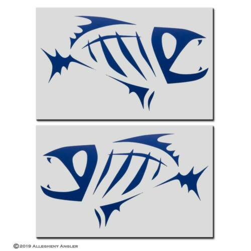 G Loomis Skeleton Fish Boat Decal Set 5 Colors to Choose From