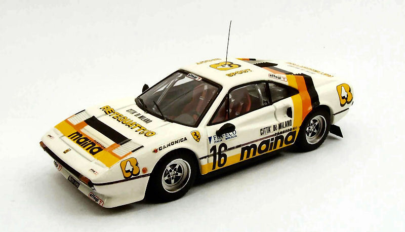 Ferrari 308 Gtb  16 Rally Dei Laghi 1984 1 43 Model BEST MODELS