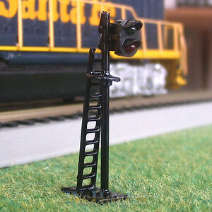 Details about 5 pcs N Scale Railroad Signals 2 Aspects LEDs Made #N Block  Signals