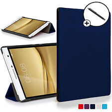 Navy Blue Smart Case Cover Huawei MediaPad T2 7.0 Pro / M2 7.0 with Free Stylus