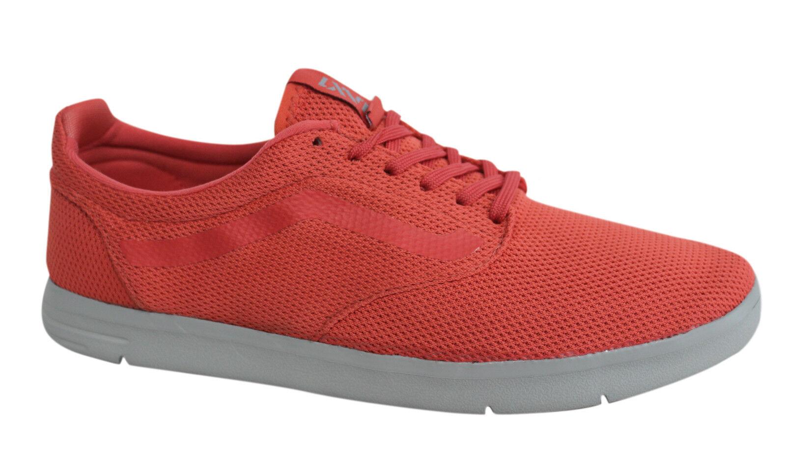 Vans Off The Wall Lacets ISO Textile Baskets à Lacets Wall Corail Rouge Chaussures vhhzu 0 Vans E 6baf26