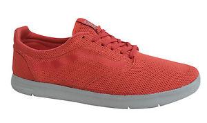 Vans Off The Wall ISO Tessile Scarpe Da Ginnastica Con Lacci Corallo rosso Scarpe vhhzu 0 FURGONI F