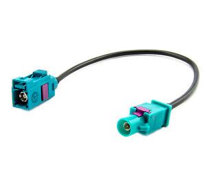 Antenennenadapter-Autoradio-Kabel-Verlaengerung-20cm-FAKRA-Buchse-FAKRA-Stecker