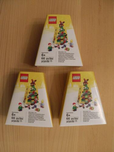 Christmas Ornament inkl.0,00€ Versand Neu&O LEGO® 5004934 3 X Weihnachtsbaum