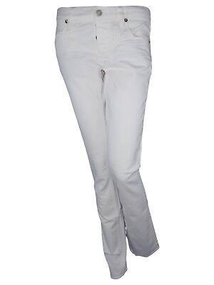 ralph lauren donna jeans pantalone bianco taglia it 41 42 w 27 28 l 34