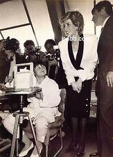 PRINCESS DIANA 15 PHOTOS VISITING BOYS' TOWN ROME ITALY 26 APRIL 1985 RARE