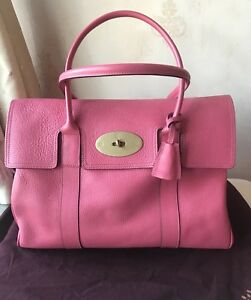 5d2d47bd22 Image is loading Mulberry-Bayswater-Pink-Bag-Excellent-Condition