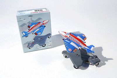 PüNktliches Timing VertrauenswüRdig Blechspielzeug Flugzeug Flying Hops Mit Federwerk