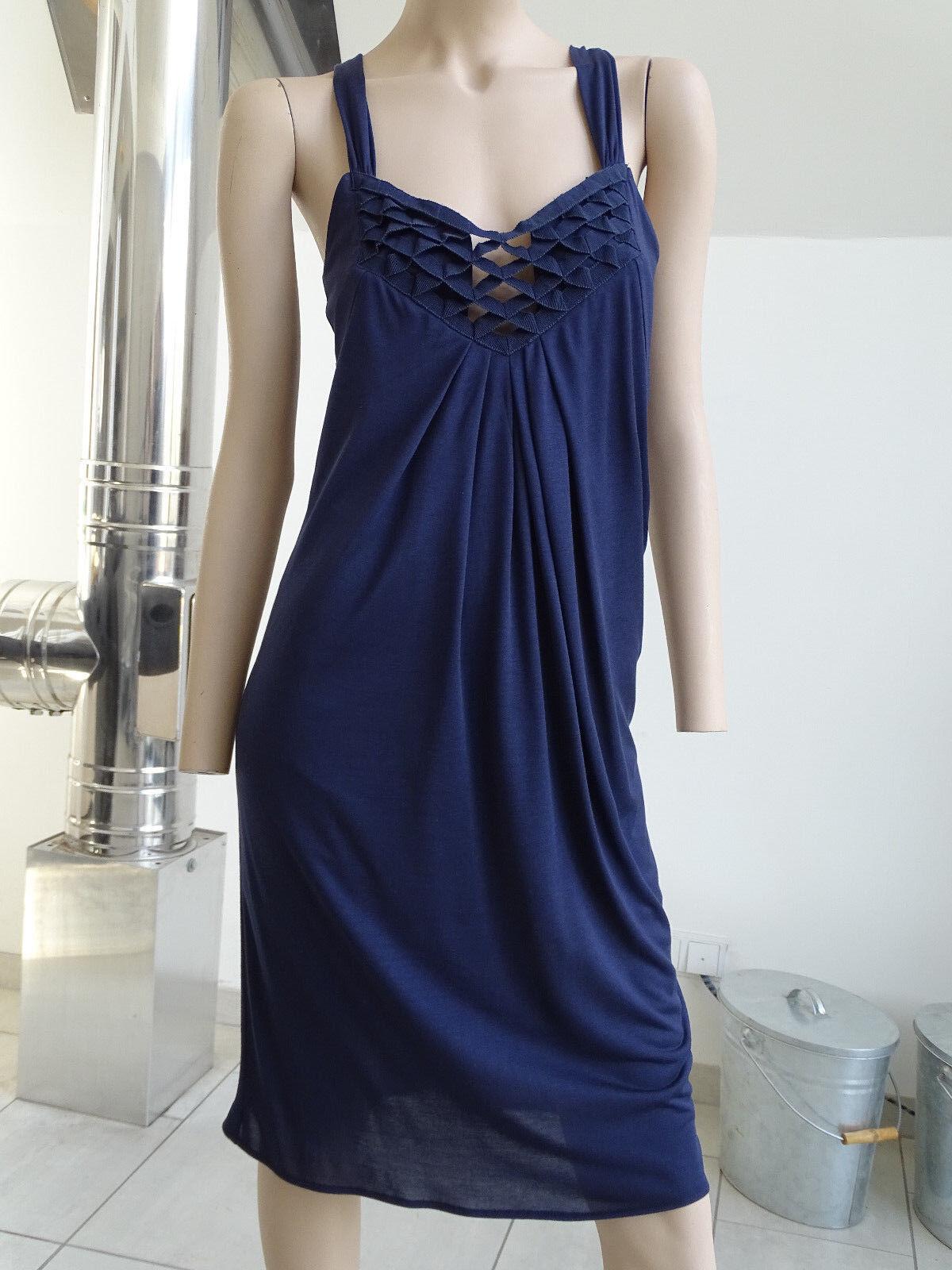 af2274fdadaadb Hondrocream ist die Schnellste Strenesse Kleid Gr. 34 blau blau blau wie  neu 85e426