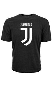 OFFICIALLY LICENSED BLACK JUVENTUS ADULT T-SHIRT SERIE A SIZES SM-XXL