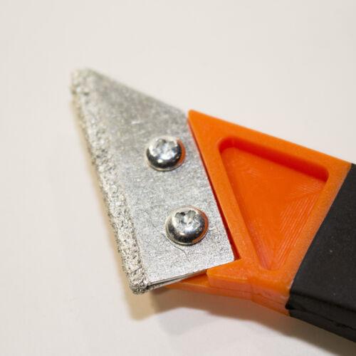 HM Fugenmesser mit 2 Klingen wechselbare Klinge 50 mm Fugenkratzer Verfugen