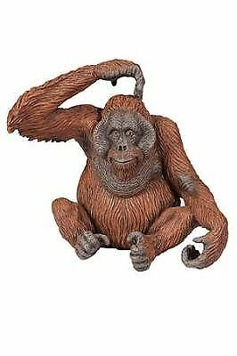 Papo 50120 Modello da Collezione Giocattolo-ORANGO-Figura Animale Selvatico