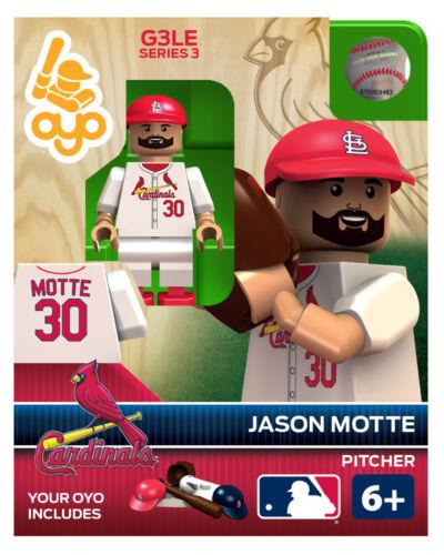LOUIS CARDINALS Oyo Mini Figure NEW G3 Jason Motte MLB ST
