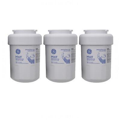 GE SmartWater MWF MWFP 46-9991 GWF HWF Refrigerator Water Filter 3 Pack