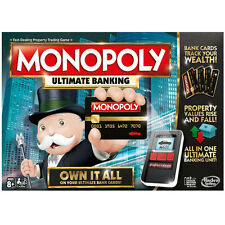 NEW 2016 MONOPOLY ULTIMATE BANKING EDITION - RACE TO OWN IT ALL!! AGE 8+
