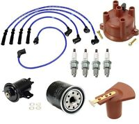 Toyota 4runner 86-88 2.4l Ignition Tune Up Kit Filters Cap Rotor Plugs Wire Set on sale