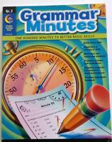 Creative Teaching Press Ctp 6120 Grammar Minute 2nd Grade 2 Workbook