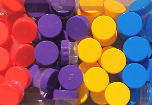 100-SMALL-Plastic-Mini-JARS-3-dram-Container-Pot-4-Posh-Sample-3301-DecoJars-USA