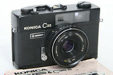 Konica C35 Automatic Camera (Black)