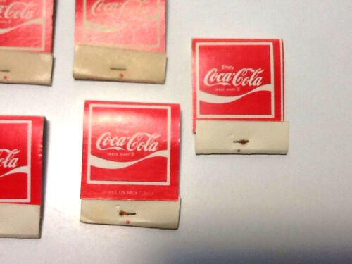 """1 Vintage Coca Cola Match Book Pack /""""Coke Adds Life to Everything Nice/"""""""