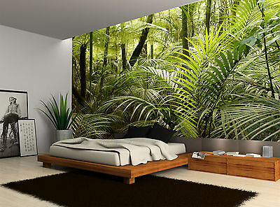 Forest Trees Tropical Jungle Plants Wall Mural Photo Wallpaper GIANT WALL DECOR