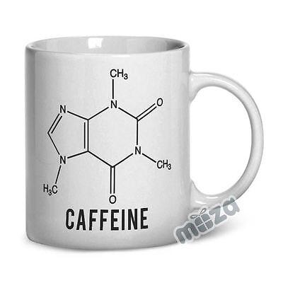 Caffeine Molecule 11oz Coffee Mug Funny Humor Cup Office Gift Java Chemistry