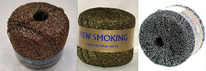 Filatura-di-Crosa-New-Smoking-Metallic-Yarn-Color-Choice-Jewelry-Knit-Crochet