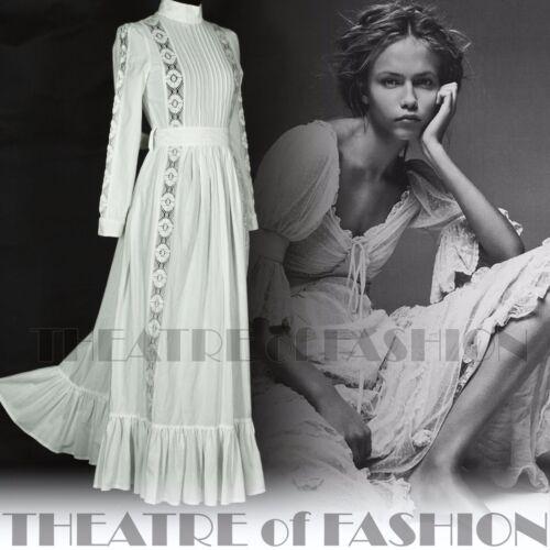 Ashley Wedding 8 70s Lace Vintage 60s Laura 6 Victorian 10 Boho 12 Crochet Dress 1ndwxXHn