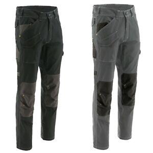 Caterpillar Cargo Trabajo Pantalones Essentials Clásico Hombre Fit Duradero