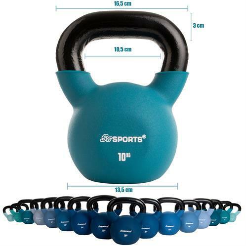 Kettlebell Kugelhantel Schwunghantel Kugelgewicht Rundgewicht Gusseisen 2–30 kg