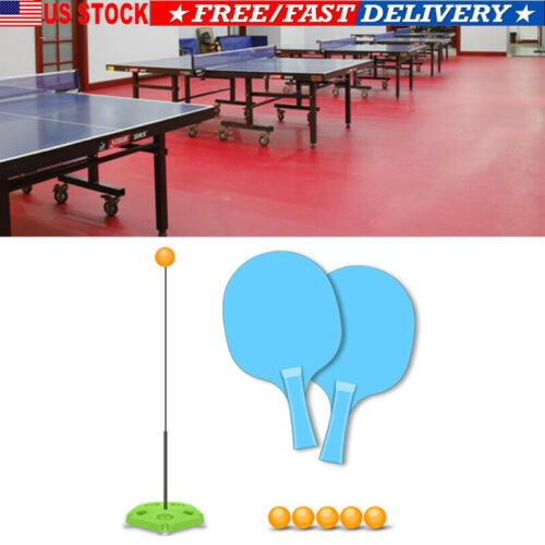 Table Tennis Trainer Ping Pong Balls Family Party Healthy Exercise Fitness Game