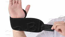 Neoprene Adjustable Wrist Thumb Brace Support Gym Weight Lifting Training Wrap